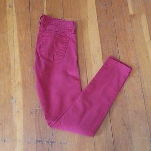 Flying Monkey Red Skinny Jeans